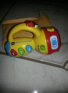 VTech Spin & Learn Color Flashlight Toddler Learning Educational