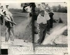 1951 Press Photo Golfers Ellsworth Vines & Walter Burkemo, Oakmont, PA