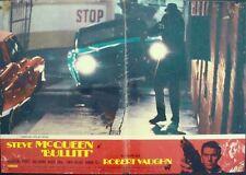 BULLITT Italian fotobusta photobusta movie poster #9 STEVE McQUEEN BISSET 1968