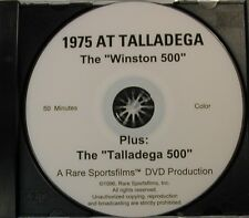 NASCAR 1975 at Talladega!  Both races on one DVD!