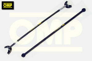 OMP ANTHRACITE TWIN STRUT BRACE SET RENAULT CLIO 172 182 CUP