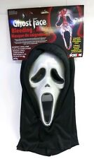 GhostFace Bleeding Mask Adult Scream Halloween Costume Kit Fun World New