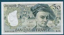 FRANCE - 50 FRANCS QUENTIN DE LA TOUR Fayette n°67.6 de 1980 en NEUF B.18 866226