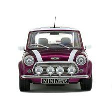 Solido 1997 Mini Cooper Sport Metallic Purple 1:18 Diecast MIB IN STOCK!