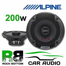 Vauxhall Corsa C 00-06 Rear Shelf Car Speaker upgrade Alpine 13cm 2-Way 200 W