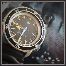 Müller&Son Seiko SKX Seamaster 300 Spectre Watch Mod+Seiko Rubber Diving Strap