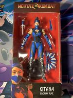 Mortal Kombat KITANA Edenian Blue McFARLANE Toys NEW Action Figure