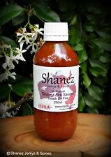 Shanez 200ml 'Death by Fire' Sauce Chilli Ghost (Hot Sauce) Free Post