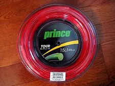Prince Tour Xtra Power 15L Tennis String Reel - RED