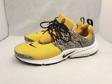 Nike Air Presto QS University Gold/Black Safari Sneakers 886043-700 Men's Sz 11