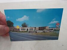 TWIN BRIDGES MOTOR INN & RESTAURANT DINING BEST WESTERN VINTAGE POSTCARD