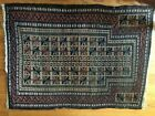Antique Hand Knotted Tribal  Wool Prayer Rug 50 inches x 37 inches