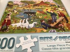 Bits and pieces puzzle, 300 large piece puzzle, Indian summer sunset