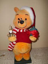 Disney Musical Animated Lighted Winnie Pooh & Hurricane Light Figurine
