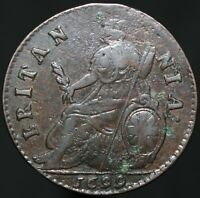 1699 | William III Half-Penny 'Type 3' | Copper | Coins | KM Coins