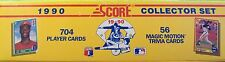 -Score 1990 Baseball MLB Collector Set w/ 704 Player Cards (NIB)