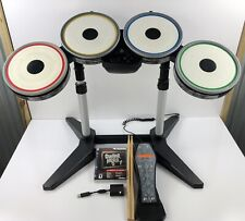 Rock Band Drums PlayStation 3 PS3 Wireless Drum Set w/ Pedal Dongle