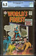 World's Finest #137 CGC 6.5 Off White to White Pages 11/63 Superman Batman