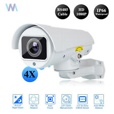 4in1 AHD CVI Security CCTV HD 1080P Camera 4X Optical Zoom IR Night Vision PTZ