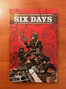 Six Days Vertigo OGN NM World War 2 Signed By Letterer
