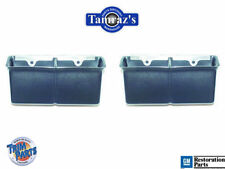 68-72 Malibu & Chevy Center Console Seat Belt Buckle Holders / Pockets Pair
