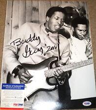 BUDDY GUY Signed COLOR PHOTO 11X14 Blues LEGEND RARE PSA/DNA!!!!!!!