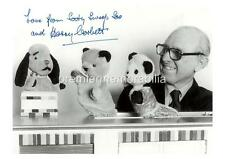 Childrens Tv Show Sooty Harry Corbett Signed (Printed) Sweep & Soo A4 Print