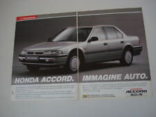 advertising Pubblicità 1991 HONDA ACCORD 2.0 i -16
