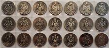 1968-1986+2002 & 2013 Canada 50 Cent Nickel Half Dollar Collection 21 coins