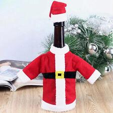 Noël Sac Cadeau Père Noël Vin Sac Bouteille Déco Bonbons Cadeau Sac Couverture
