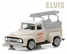 GREENLIGHT 44800-B 1954 Ford F100 Pickup Truck Crown Electric Elvis Presley 1:64