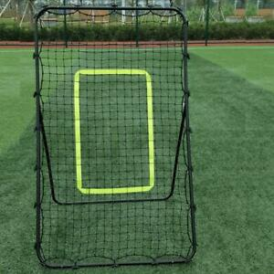 NEW Pitch Back Rebound Net Baseball Throwing Pitching Return Bounce Training