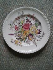 000 Vintage Johnson Bros Windsor Ware Garden Bouquet 8 Inch Sandwhich Plate