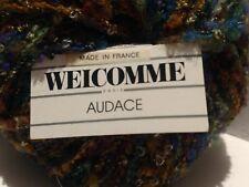 Lot of *Welcomme Paris* AUDACE Yarn (3) 50g Balls) Color#983/Dye Lot# 03