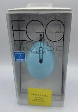 ELECOM USB optical mouse EGG MOUSE Blue M-EGUR