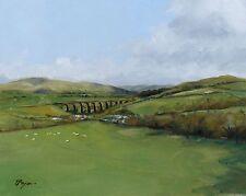 Original Oil painting - landscape - west coast mainline - by j payne
