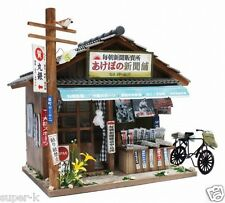 Doll House Handmade kit Japanese Retro Store [Newspaper stand] Billy Japan