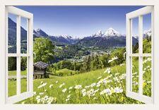 Alubild JFL Photography Landschaften berge Fotografie grün