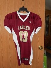 NWOT BOSTON COLLEGE EAGLES FOOTBALL JERSEY YOUTH MEDIUM UNDER ARMOUR