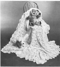Baby Items Lace Crocheting & Knitting Patterns