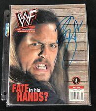 Big Show Signed Wwe Magazine May 1999