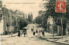 - Route de Guéret 23 Creuse CPA AJAIN