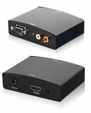 VGA to HDMI HD HDTV Video Converter Box Adapter for Laptop PC DVD HDTV