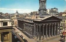 Glasgow, Royal Exchange Square Monument Auto Vintage Cars