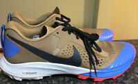 Nike Mens Air Zoom Terra Kiger 5 Trail Running Shoes Beechtree Khaki Size 10