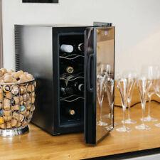 Endeva Mini Fridge Wine Cooler Glass Beer Drinks Refrigerator 8 Bottle Chiller