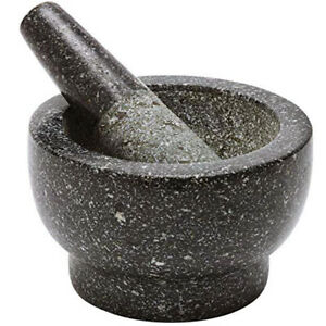 Molcajete Mortar & Pestle Granite Guacamole Tejolote Bowl Mexican Food Rustic NW