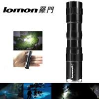 Outdoor Mini LED Tactical Flashlight Bright Torch Lamp IPX-6 Waterproof Light