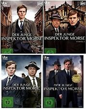 9 DVDs * DER JUNGE INSPEKTOR MORSE - STAFFEL / SEASON 1+2+3+4 IM SET # NEU OVP &