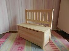 siège d'ENFANTS BANC Banc en bois pour banc coffre non traitée bois massif